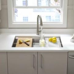 Kohler Kitchen Sink Accessories Ninja Prolific 33 L X 17 3 4 W 11 Undermount Single Bowl With Reviews Wayfair Ca