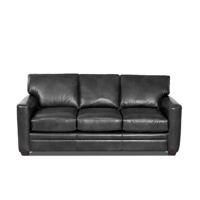 grey carleton nailhead sofa office furniture sofas uk wayfair custom upholstery leather reviews ca