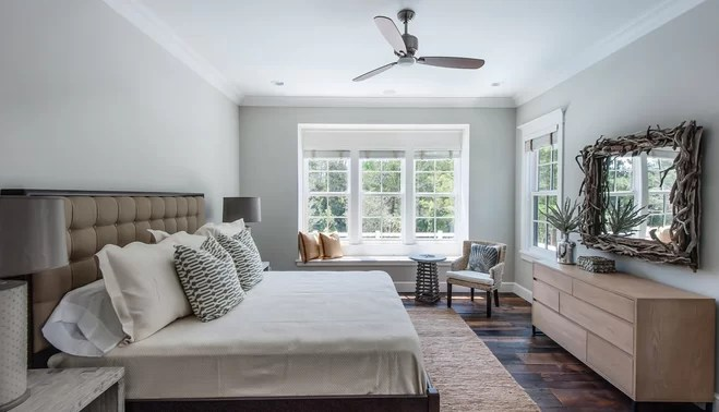 ceiling fan size for living room simple interior design in philippines and mounting guide wayfair co uk bedroom with