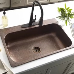Copper Kitchen Sink Magician Sinks You Ll Love Wayfair Quickview