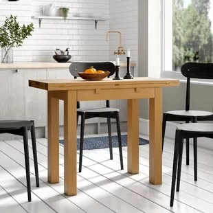 folding kitchen tables lowes appliances small dining wayfair co uk borduy table