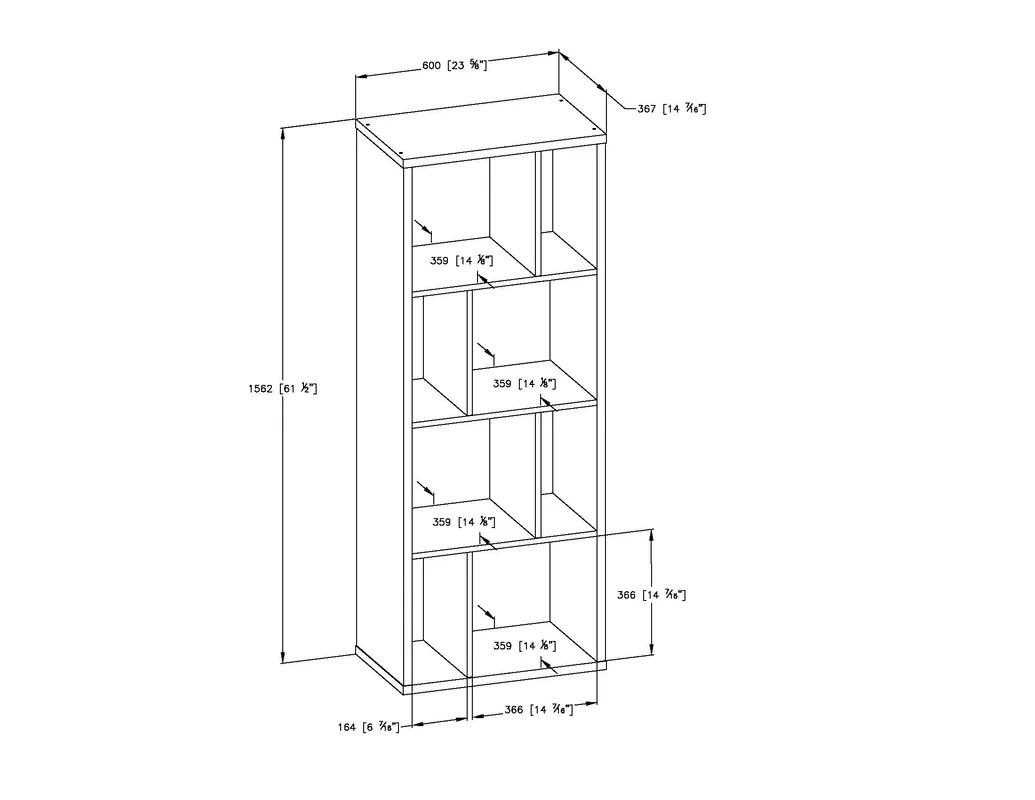 Reveal Cube Unit Bookcase Amp Reviews