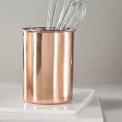 Copper Kitchen Utensil Holder Oak Table And Chairs Mint Pantry Caddy Reviews Wayfair