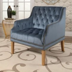 Velvet Tufted Chair Replacement Casters Chairs Wayfair Odell Manor Arm