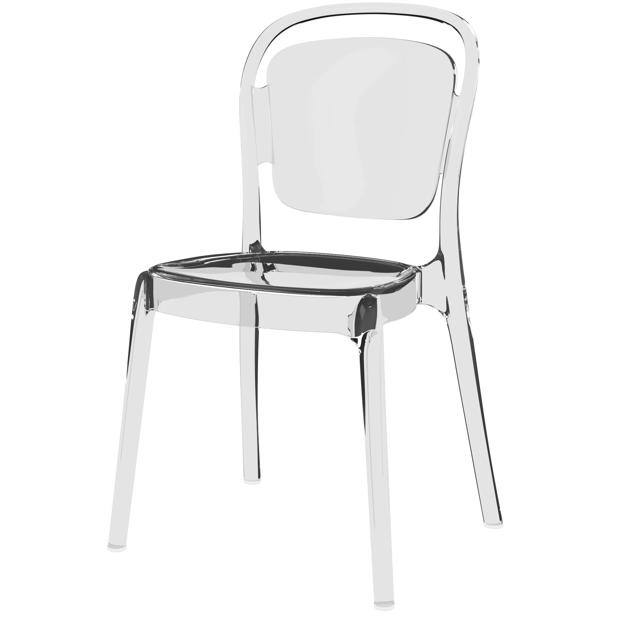 Plastic Clear Chair Rory Side Chair