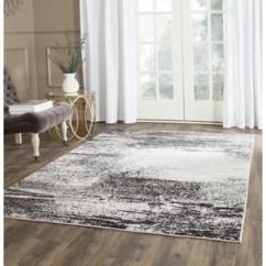 Grey Rug Living Room Pictures For Wall Metallic Silver Wayfair Costa Mesa Area