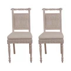 Wicker Dining Chairs Indoor Modern Set Of 4 Wayfair Co Uk Quickview
