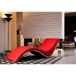 Red Chaise Lounge Chair Gold Lycra Covers Leather Wayfair Quickview