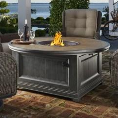 Paula Deen Dogwood Dining Chairs Spool Chair Home Cf-20 Aluminum Gas Fire Pit Table | Wayfair