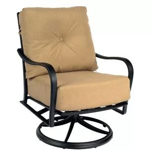 rocker outdoor chairs revolving chair video swivel wayfair apollo patio