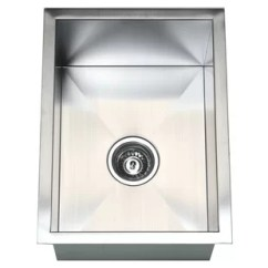 Small Kitchen Sinks Vintage Table Islands With Wayfair 15 L X 20 W Single Bowl Undermount Sink