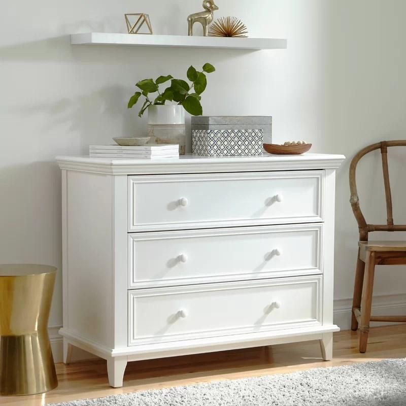 Kolcraft Transitional 3 Drawer Dresser Amp Reviews Wayfair