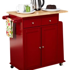 Red Kitchen Islands Faucet With Pull Out Sprayer Carts Joss Main Quickview