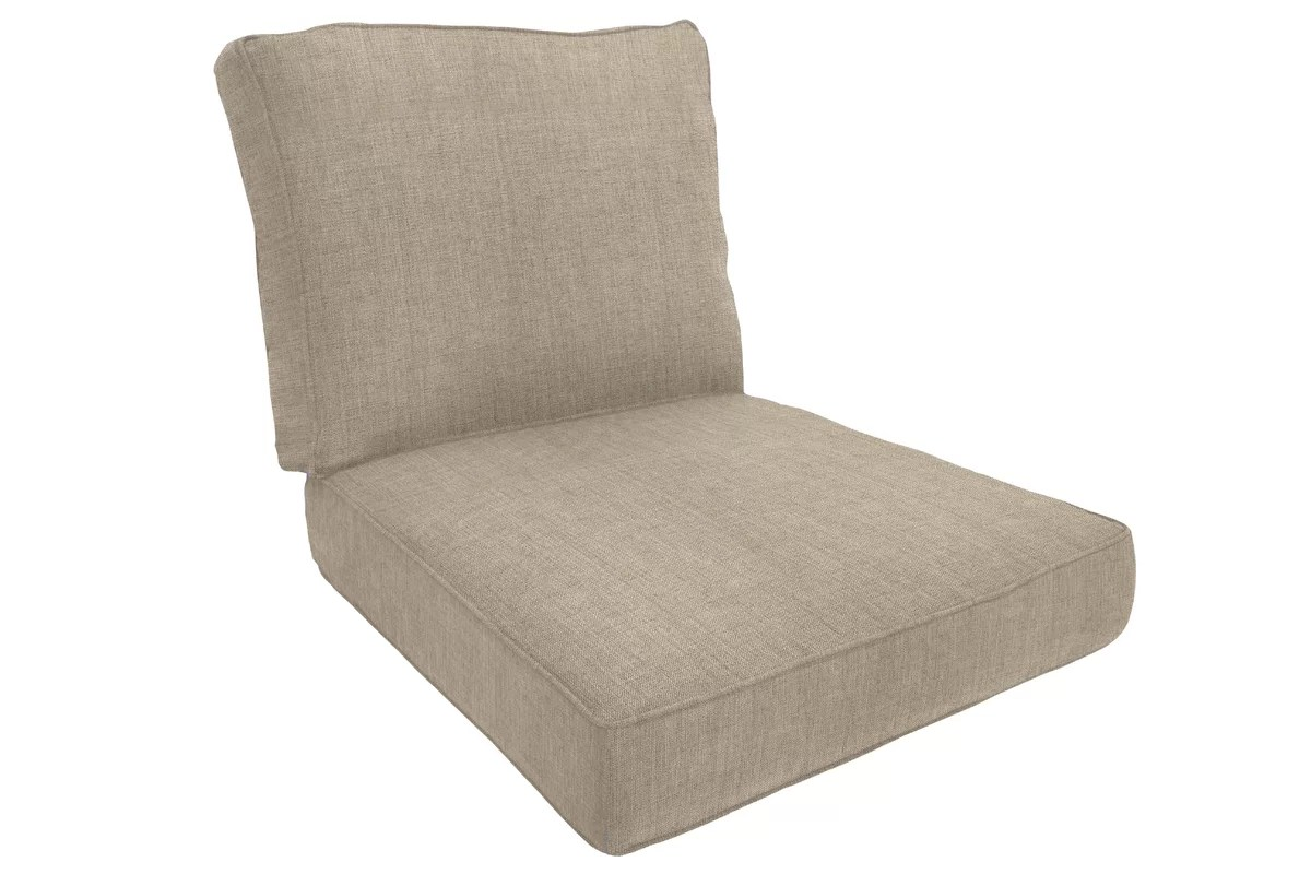 Wayfair Custom Outdoor Cushions Double-Piped Outdoor