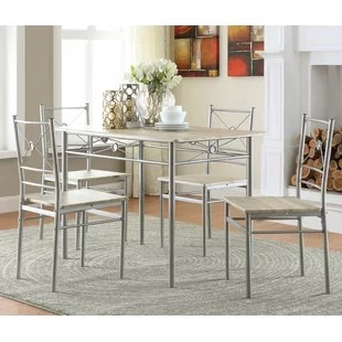 small kitchen table sets island for sale narrow dining set wayfair quickview