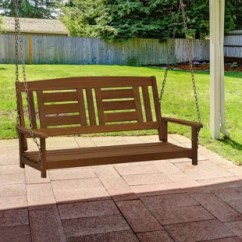 Hanging Patio Swing Chair Leather Arm Chairs Porch Swings You Ll Love Wayfair Arianna Hardwood