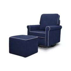 Blue Glider Chair And A Half Recliner Canada Gliders Ottomans You Ll Love Wayfair Quickview