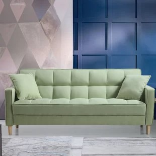sofas for small es leather sofa set online purchase couches spaces wayfair ca