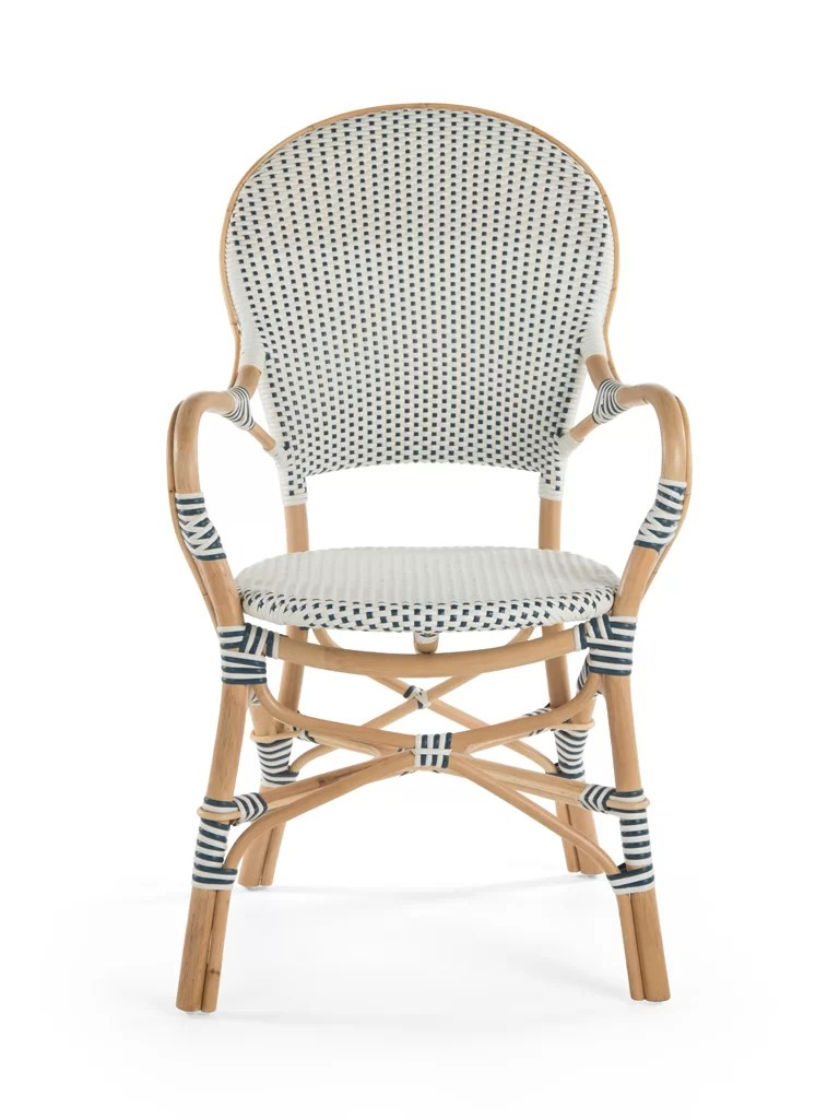 Rattan Accent Chair Tawanna Rattan Arm Chair