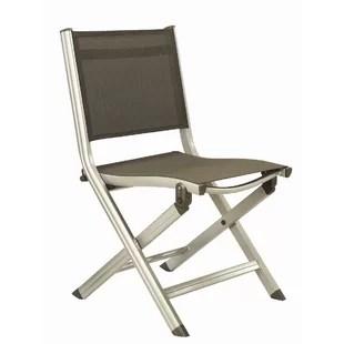 patio folding chair orange modern chairs wayfair basic plus dining
