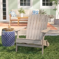 Gray Adirondack Chairs Kaboost Portable Chair Booster Australia Birch Lane Quickview