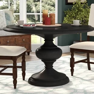 kitchen table round moveable islands 54 inch dining wayfair kerri