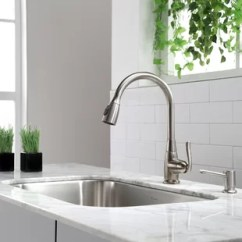 Faucet Kitchen How To Install Backsplash Faucets Sale You Ll Love Wayfair Quickview
