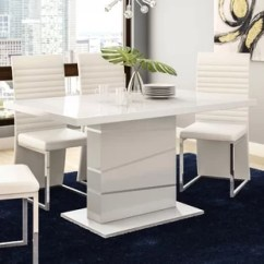 Steel Kitchen Table Boys Play Set Stainless Dining Tables You Ll Love Wayfair Didymos
