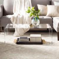 Acrylic Coffee Tables You'll Love | Wayfair