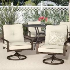Outdoor Chair Lounge Folding Foam Bed Chairs Birch Lane Jaydin Swivel Set Of 2