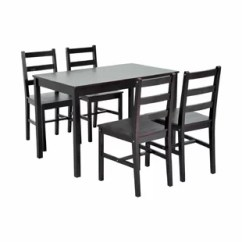 Black Table And Chairs Swivel Chair Desk Kitchen Dining Room Sets You Ll Love Wayfair Quickview