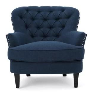 blue pattern accent chair extra wide beach wayfair quickview