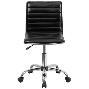 desk chair with wheels wood new design modern office chairs allmodern calhoon conference