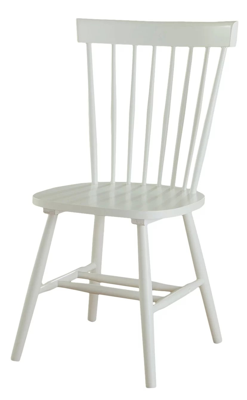 White Wooden Dining Chairs Lane Solid Wood Dining Chair