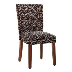 Giraffe Print Chair Puff Rocking Replacement Covers Animal Accent Chairs You Ll Love Wayfair Pfeifer Parsons Set Of 2