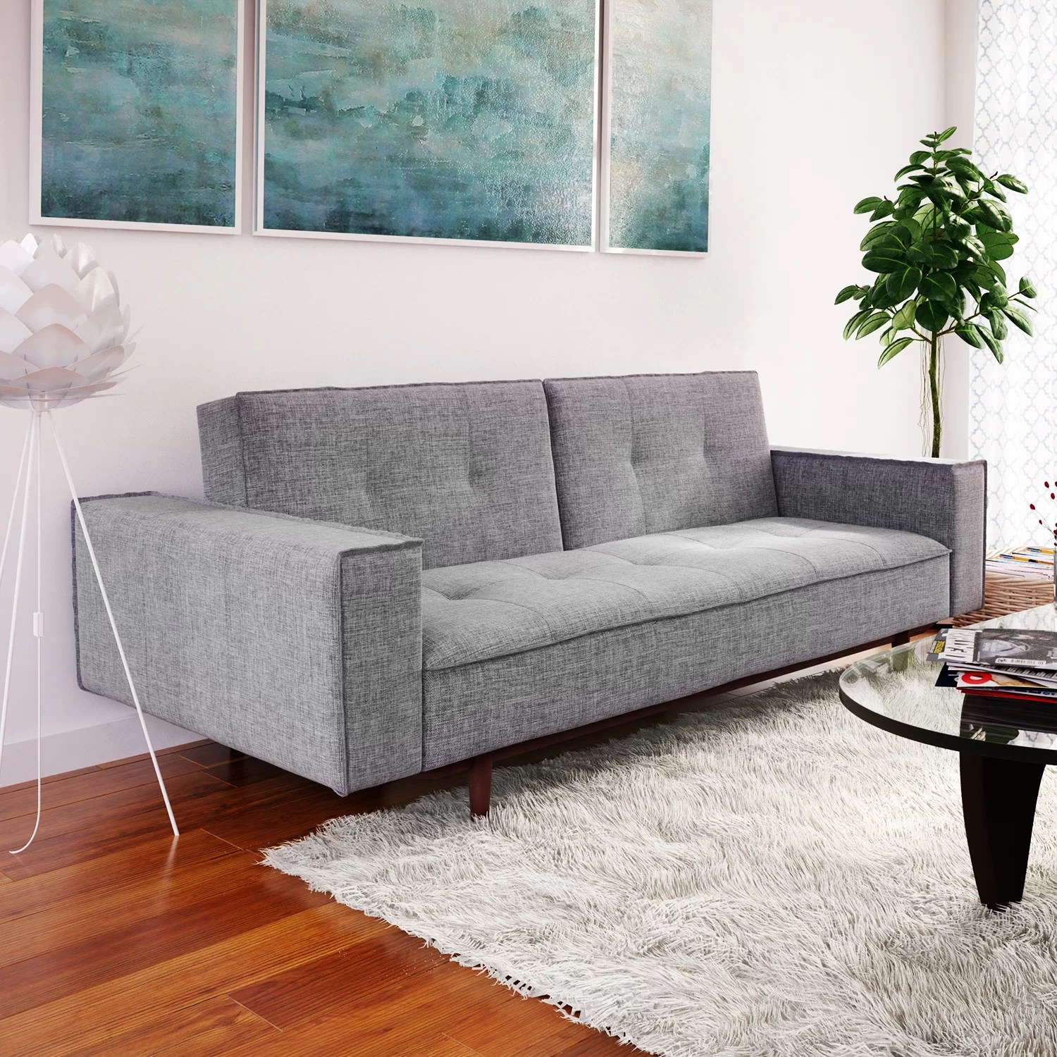 modern living room sofa furniture wall tiles design for contemporary allmodern futons