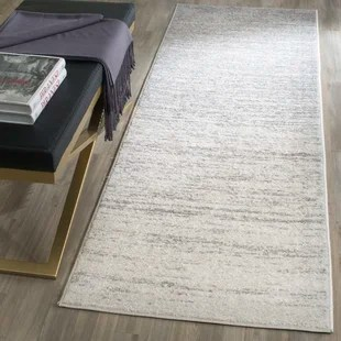 kitchen area rug designer tool rugs you ll love wayfair ca mcguire ivory silver