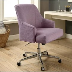 Lilac Office Chair Mesh Lumbar Support Purple Fabric Chairs You Ll Love Wayfair Quickview