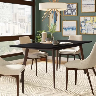 Long Narrow Dining Table Wayfair