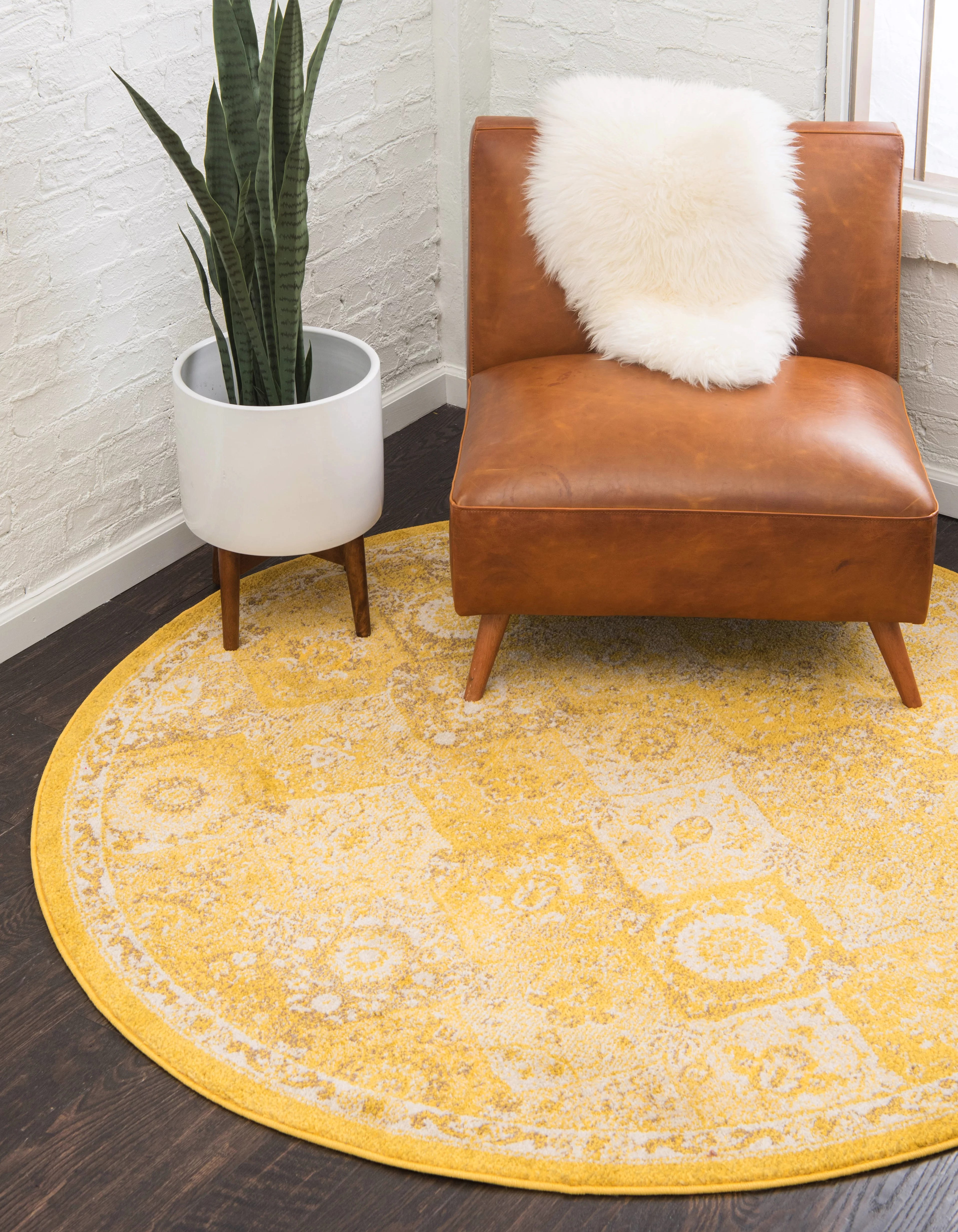 yellow area rug living room layout for a long narrow ernst reviews joss main