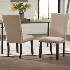 Cream Upholstered Dining Chairs Brown Computer Chair Laurel Foundry Modern Farmhouse Dearing Reviews Wayfair