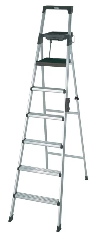 Cosco Home and Office Signature 7.66 ft Aluminum Step