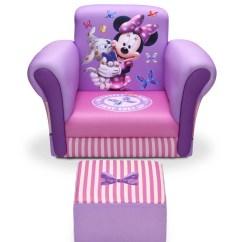 Kids Chair And Ottoman Outdoor Cushions Target Delta Children Minnie Mouse Reviews Wayfair