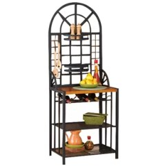 Kitchen Bakers Rack Small Tables Racks Joss Main Berkshire Steel Baker S