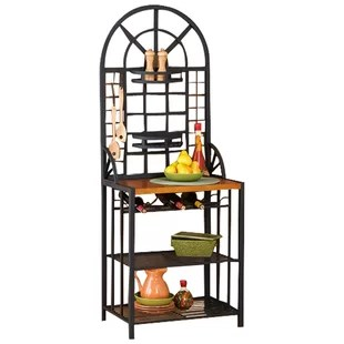 kitchen bakers rack modern cabinets online racks joss main berkshire steel baker s