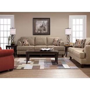 sofa set living room french style decorating ideas fabric sets wayfair nordberg configurable