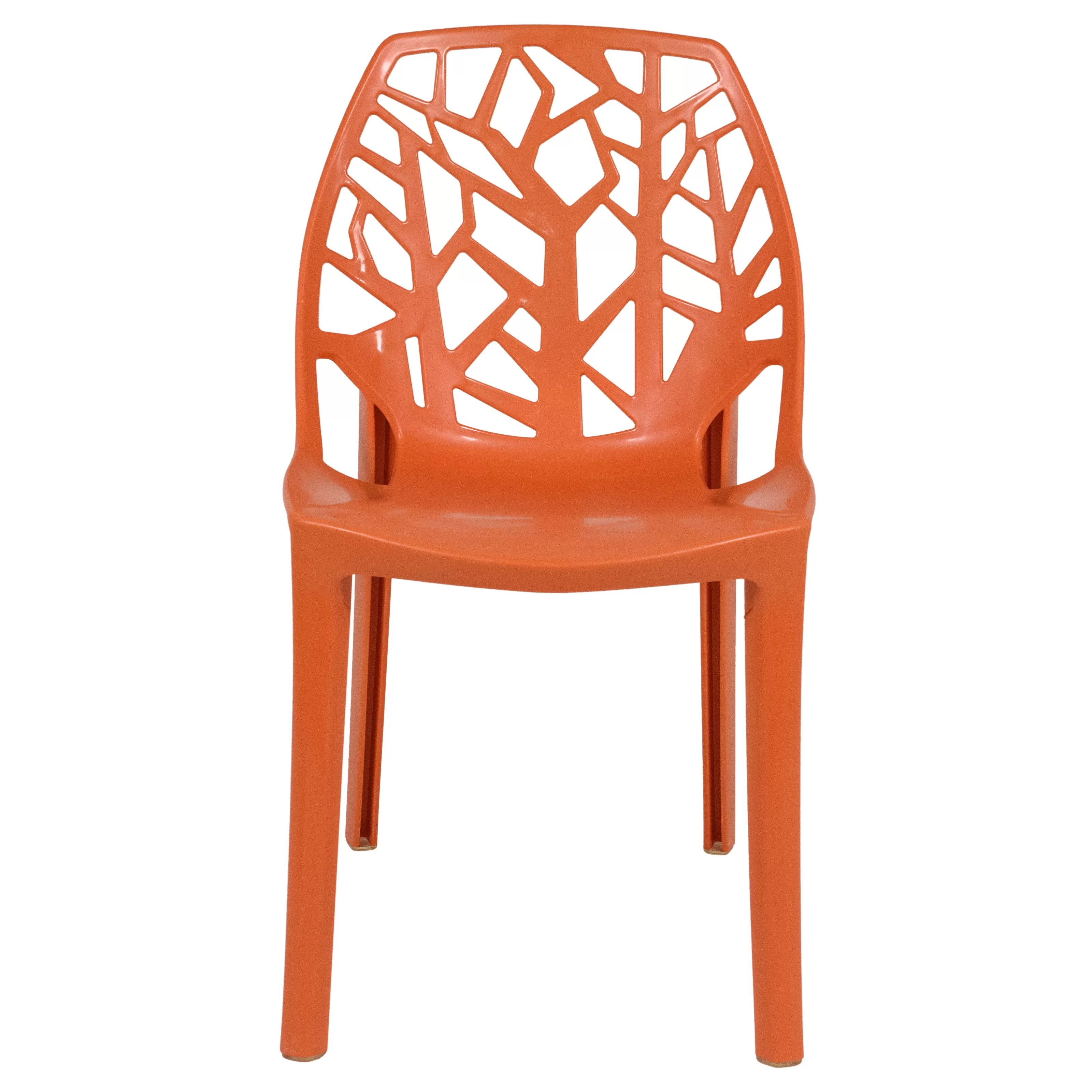 Stacking Dining Chairs Kimonte Stacking Patio Dining Chair