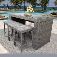 Bar Height Table And Chairs Outdoor Chair Design Terminology Cover Wayfair Joyeta 7 Piece Dining Set
