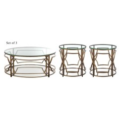 3 Piece Table Set For Living Room Design Ideas Small Narrow Rooms Willa Arlo Interiors George Coffee Wayfair Ca