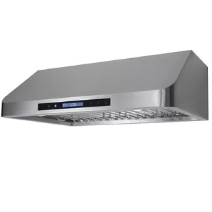 kitchen hoods for sale stainless steel carts range you ll love wayfair ca 30 900 cfm ducted under cabinet hood